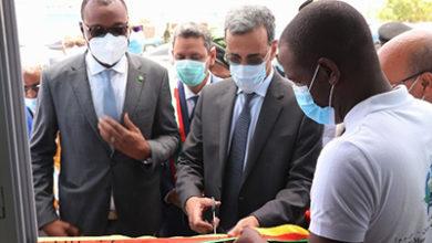 صورة تدشين مركز لبيع منتجات الشركة الموريتانية للألبان بنواكشوط