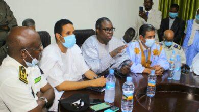 صورة والي نواكشوط الشمالية يعقد اجتماعا موسعا مع الوجهاء والفاعلين في توجنين